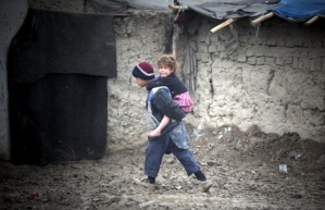 AFGHANISTAN-KABUL-CHILDREN-POVERTY