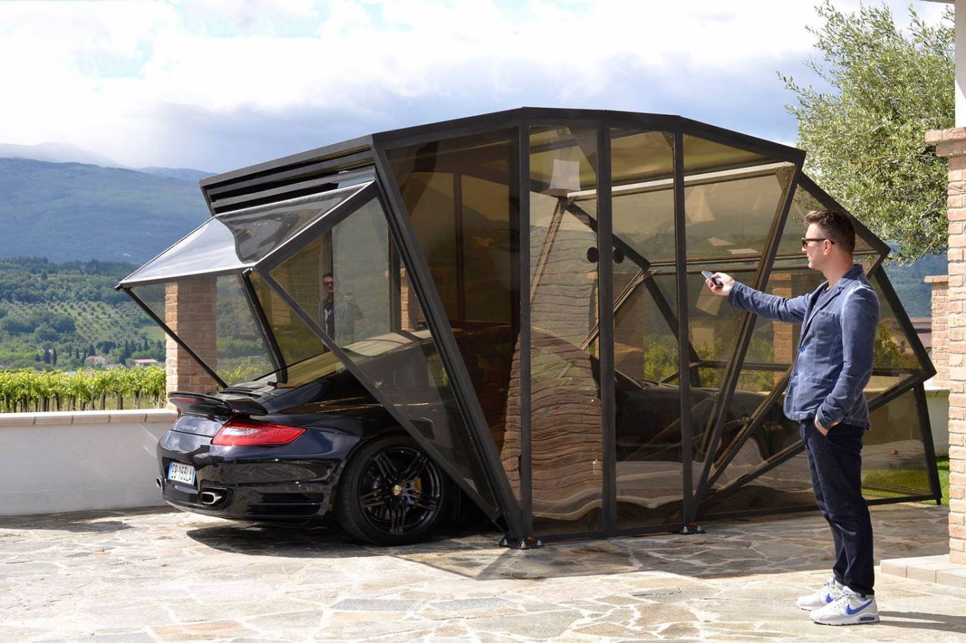 mobile garage design zack chia apple is black mobile garage design